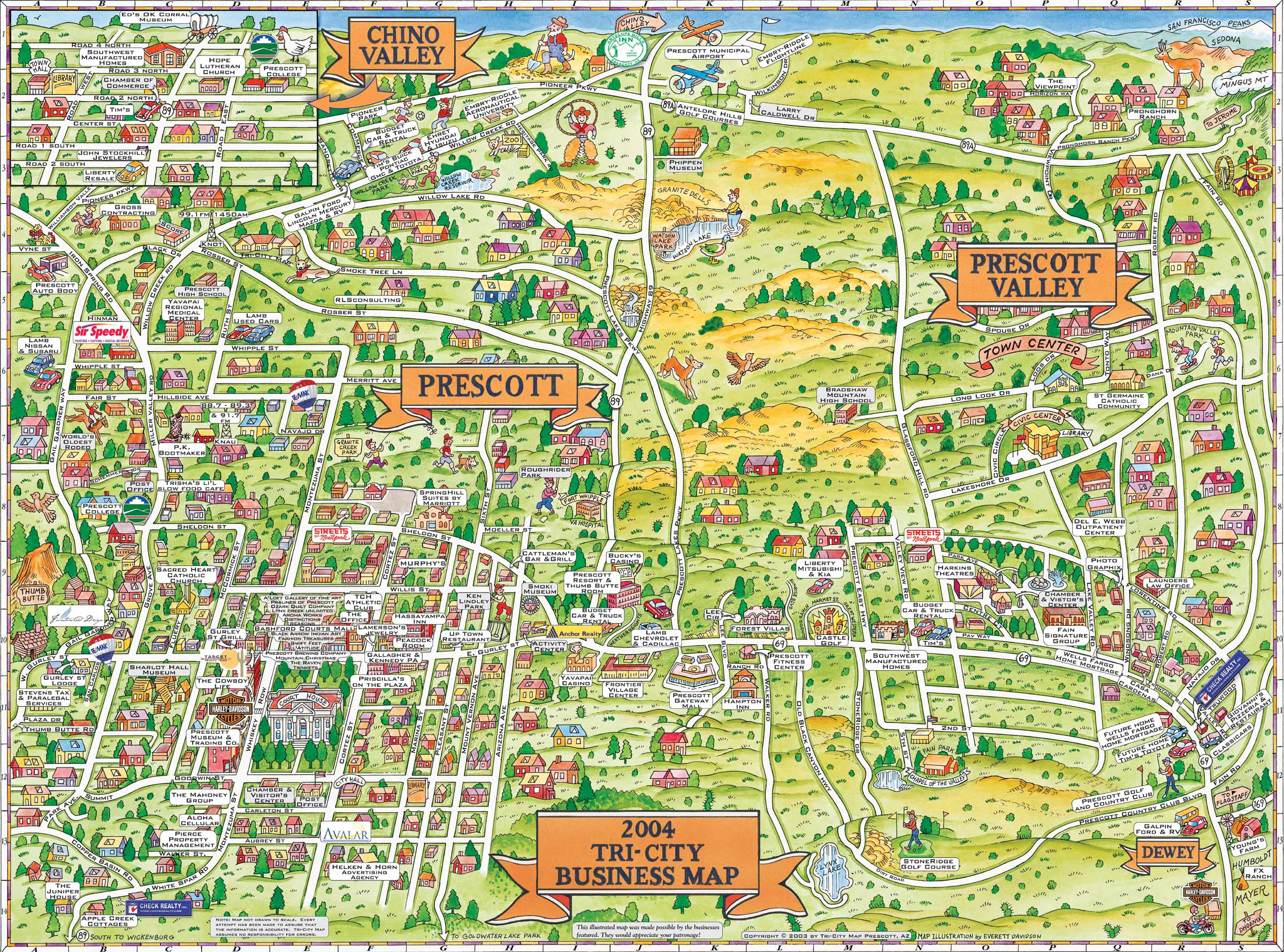 Welcome to Docs 4 Sale – Sedona Tourist Map