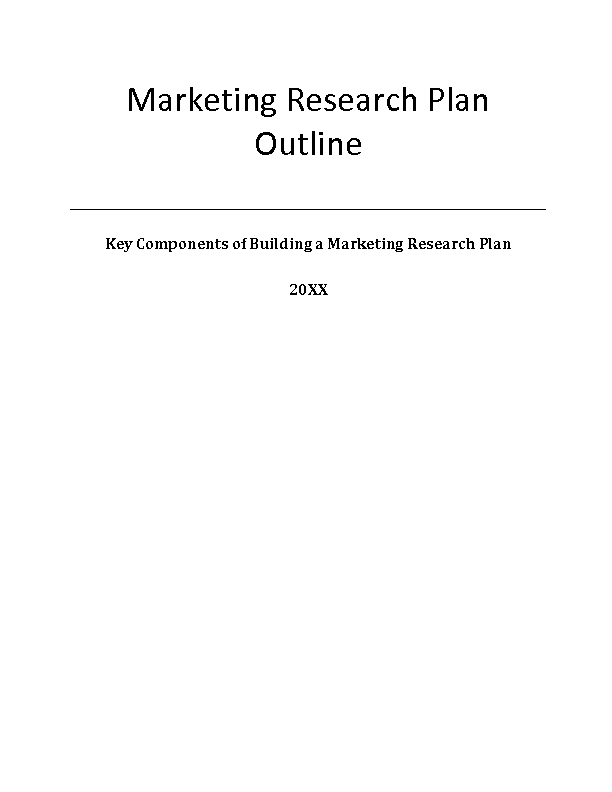 Case Study Outline Marketing - Case Solution, Analysis ...