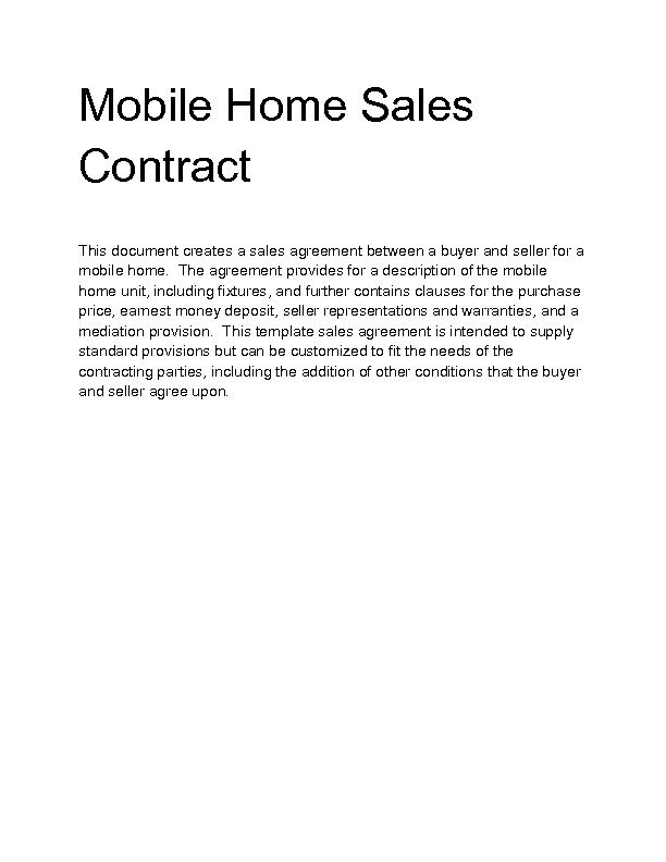 Home Sales Agreement Reverse Search