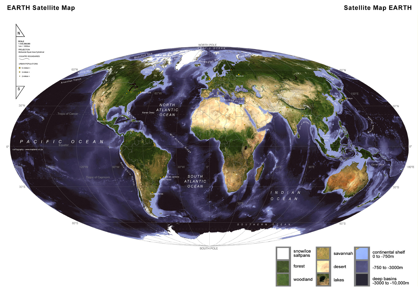 earth and satellite maps - HD1587×1123