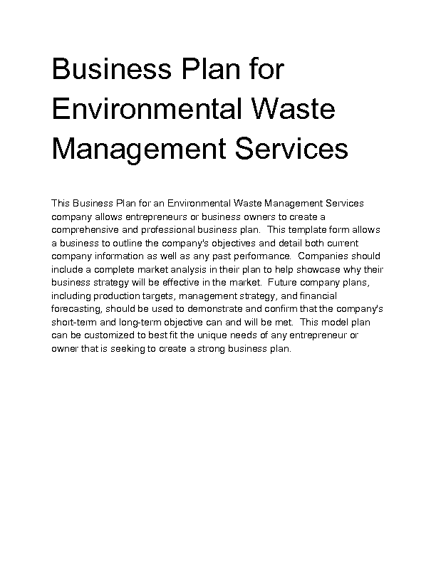 Environmental Management Master\'s Degree