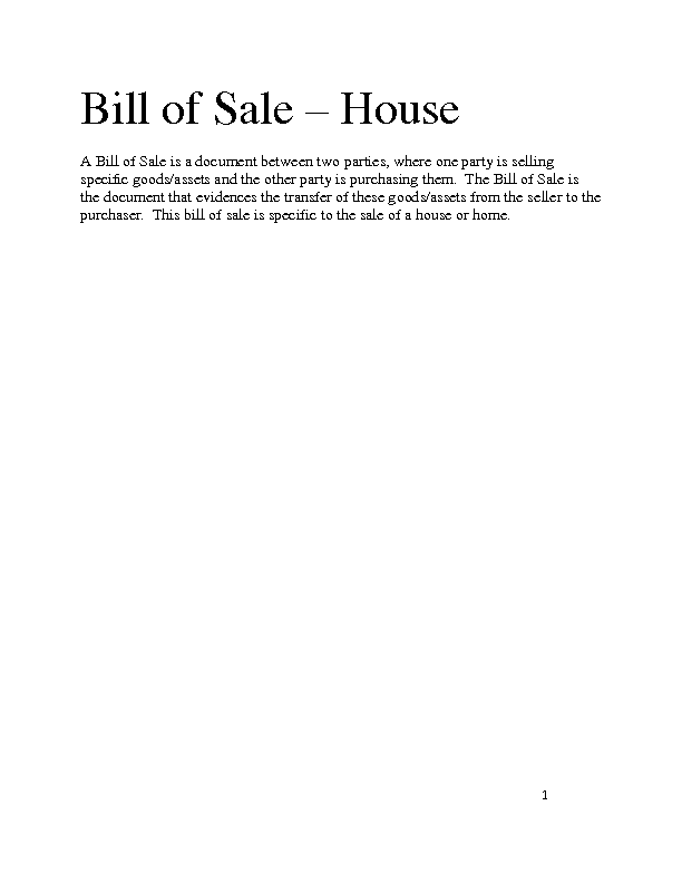 where to get a bill of sale